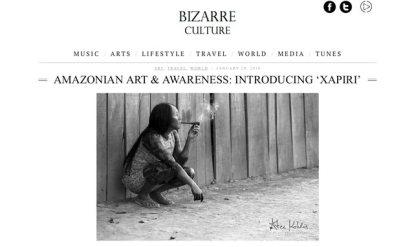 Bizarre Culture Interview - Xapiri 1