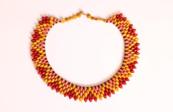 Pataxo Brazil Indigenous Necklace