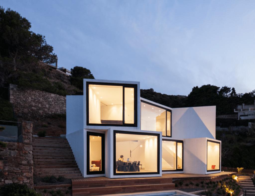Vista exterior Casa Girasol