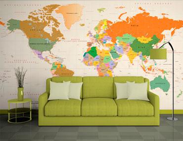ταπετσαρία τοίχου χάρτης c4