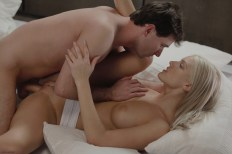 X-Art Barbie in Rolling in the Sheets With James Deen 13