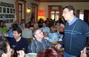 2010/10/28: Στιγμιότυπο από τη συνάντηση των υποψήφιων της Αντίστασης Πολιτών Δυτικής Ελλάδας.