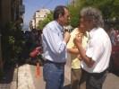 2013/05/01: Ο Β. Χατζηλαμπρου στην απεργιακη συγκεντρωση της Πρωτομαγιας στην Πατρα