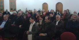 2014/12/13: Απο την εκδηλωση του ΣΥΡΙΖΑ Καλαβρυτων με θεμα «Φασισμος, Ναζισμος και Κατοχικο Δανειο - Γερμανικες Αποζημιωσεις», με ομιλητες τον Γ. Κατρουγκαλο και την Τ. Χριστοδουλοπουλου