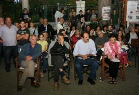 2012/06/01: Από την αντιφασιστική συγκέντρωση-εκδήλωση του ΣΥΡΙΖΑ-ΕΚΜ στα Καλάβρυτα