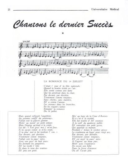 Chanson Sur Le Manque Et L'absence : chanson, manque, l'absence, Romance, Juillet, Chansons, Paillardes, France, D'ailleurs