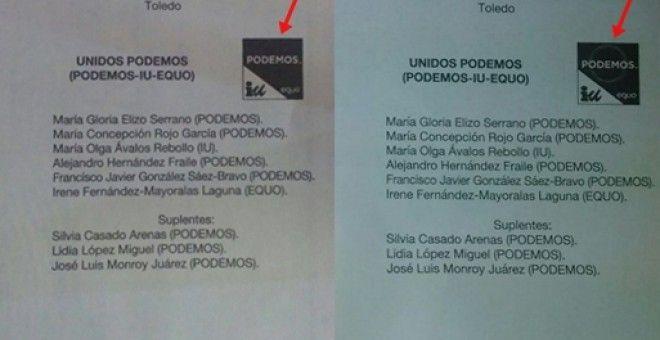 La Junta Electoral valida 2.000 votos nulos a Unidos Podemos en Toledo | Diario Público