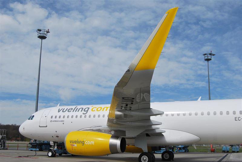 Vueling cancela cinco vuelos en El Prat y registra retrasos en la mayoría de operaciones