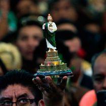 San Judas Tadeo Mientras que Judas es el símbolo de la traición por excelencia, Judas Tadeo es santo y es venerado por muchas comunidades, como en este caso en la iglesia de San Hipólito, en Ciudad de México.
