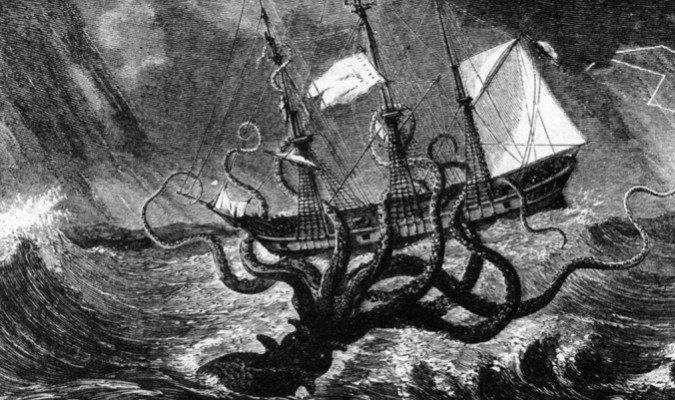 El kraken: el verdadero origen de su leyenda
