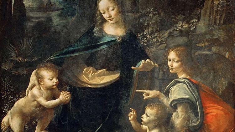 Descubren un mensaje oculto en un cuadro de Da Vinci (FOTOS) – RT