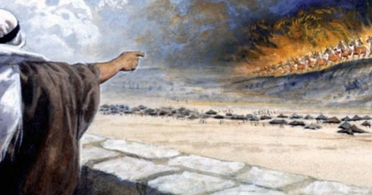 Carros de guerra entre las nubes: posible avistamiento OVNI en el antiguo Israel ocupado por los romanos | Ancient Origins España y Latinoamérica