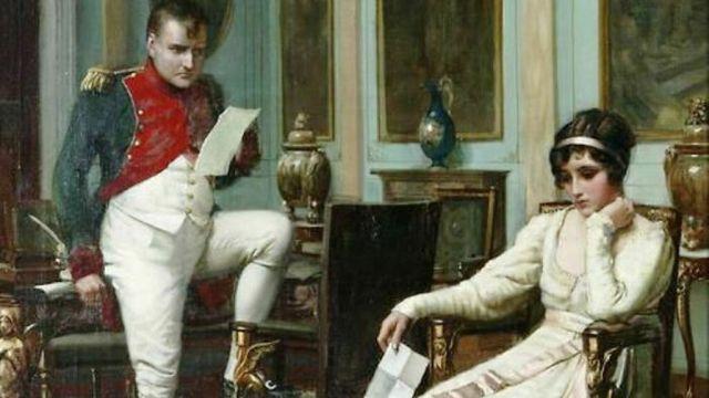 Napoleón Bonaparte y Josefina en la intimidad.