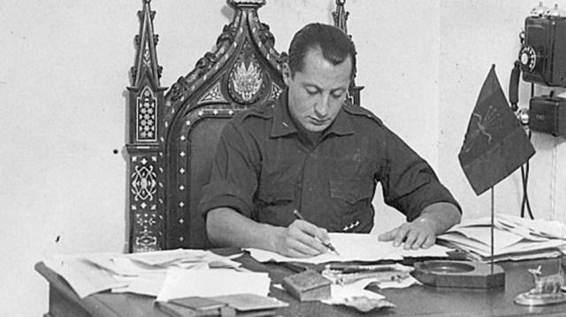 José Antonio Primo de Rivera en una fotografía de octubre de 1933 - ABC