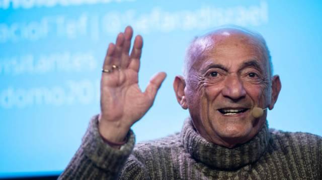 Jacobo Drachman, en Madrid en enero de 2019. CENTRO SEFARAD-ISRAEL / CORTESÍA DE FUNDACIÓN TELEFÓNICA