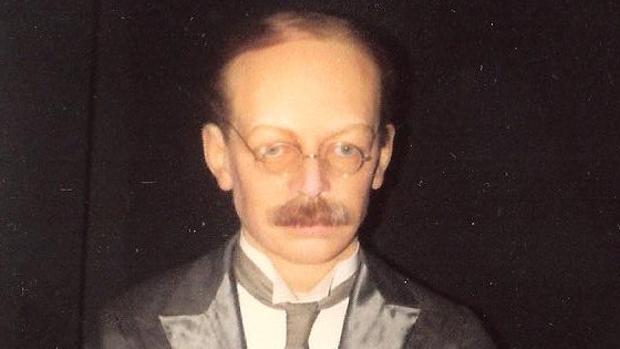Figura de cera del doctor Crippen en el Museo Madame Tussauds de Londres