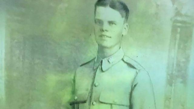 Harry Cole escribió la carta a su madre.