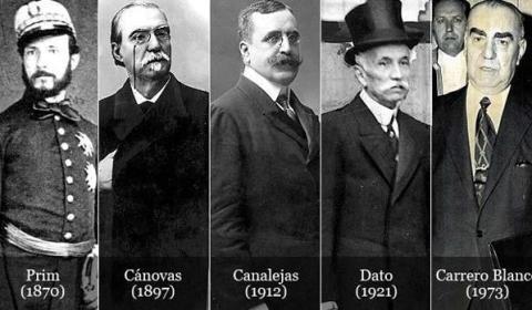 Las dudosas versiones oficiales que se dieron en los asesinatos de los presidentes de España