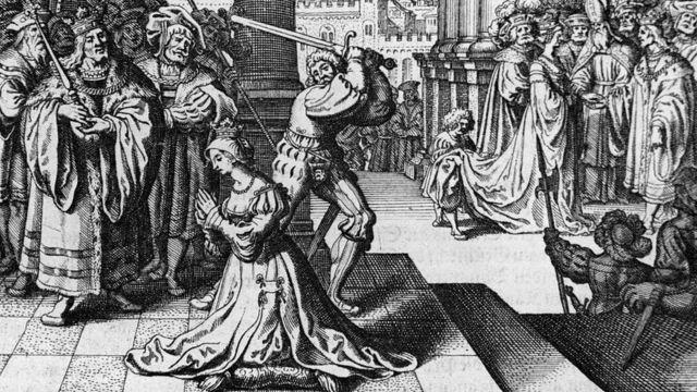Un verdugo francés fue traído especialmente a Londres para ejecutar a Ana Bolena con una espada.
