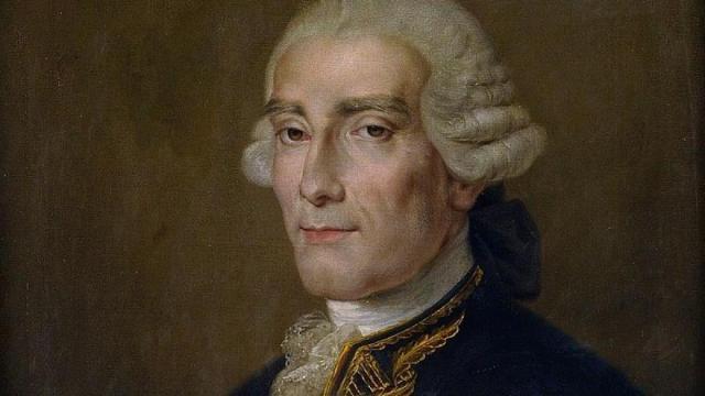 Retrato de Jorge Juan en el Museo Naval de Madrid.