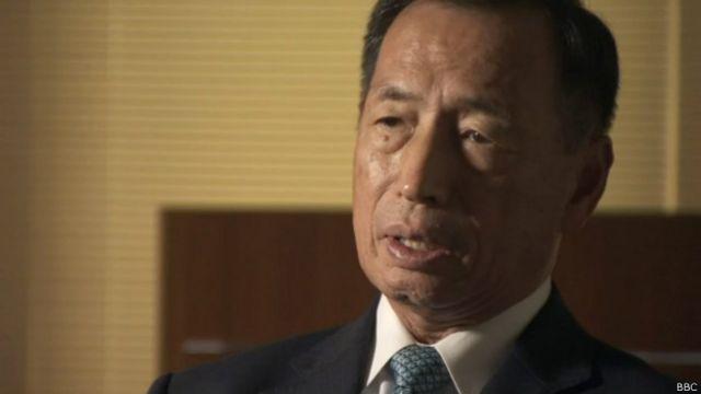 """El ex jefe de las fuerzas aéreas de Japón, Toshio Tamogami, dice que las historias de atrocidades son """"mentiras e invenciones""""."""