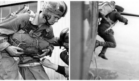 Los diez héroes olvidados del Día D: así fue el primer salto en paracaídas sobre el infierno de Normandía