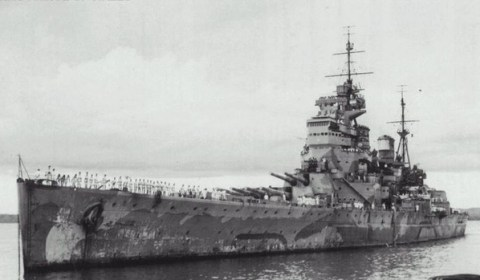 El humillante error que destruyó los dos colosos acorazados de la Royal Navy en la Segunda Guerra Mundial
