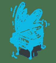 logo piano avec ombre