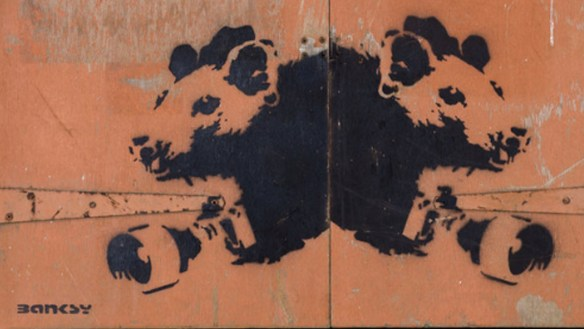 Galartis street art _ Banksy