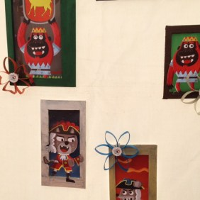 Retrats d'alguns dels protagonistes.