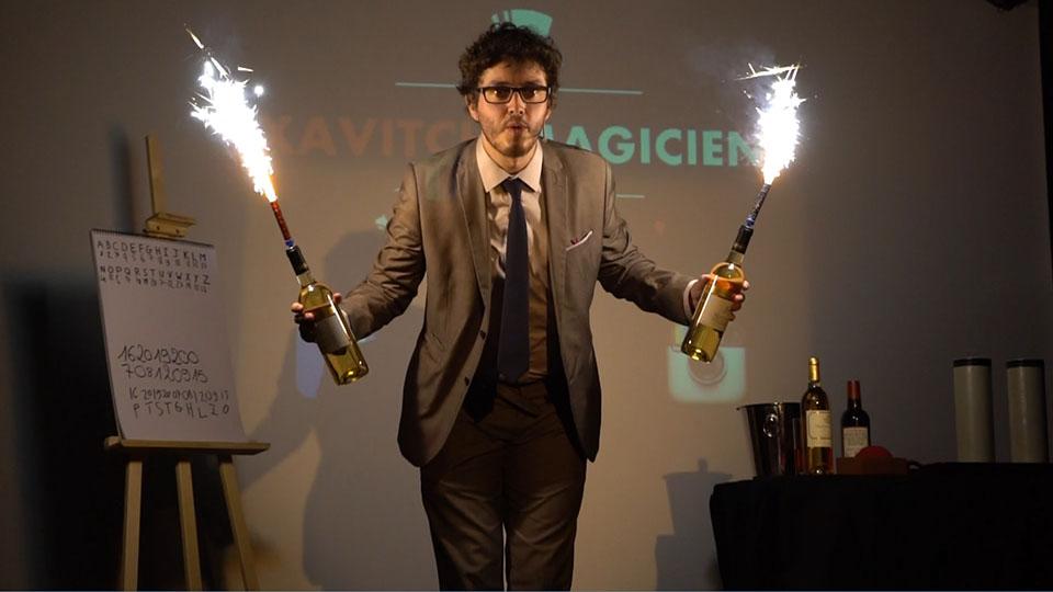 slider 3 magie de scène - xavitch magicien