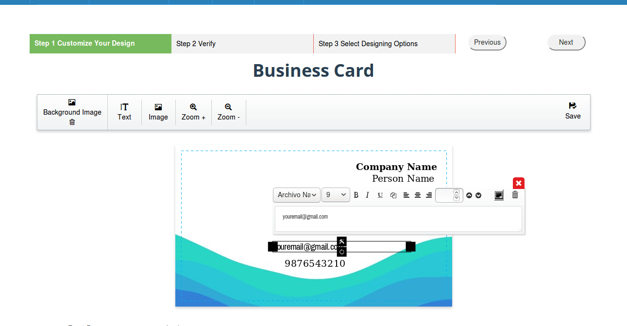 can small print shop
