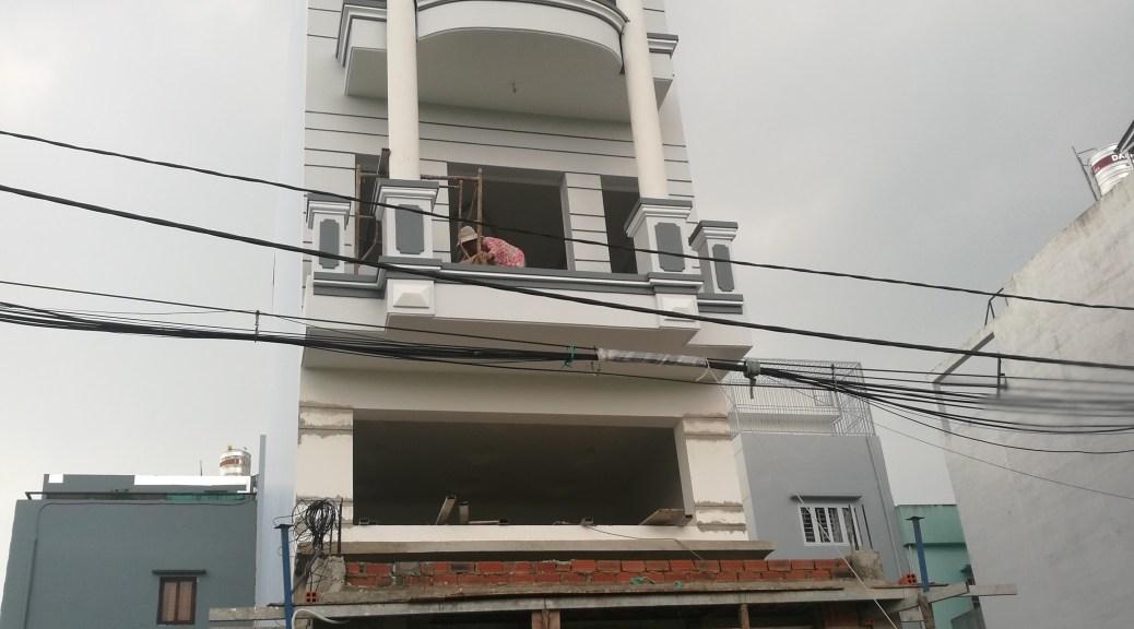 thiết kế xây nhà chị yến bình Tân giá rẻ