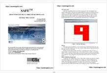 Phân tích toàn bộ và thiết kế hệ thống sàn trong safe