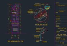 Hồ sơ thiết kế nhà phố 4 tầng 4x17m