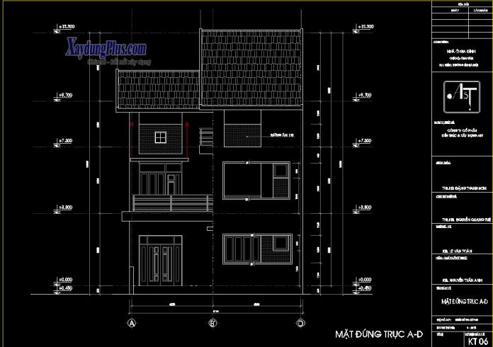 Mẫu nhà chữ L hiện đại 2 tầng 9x11m