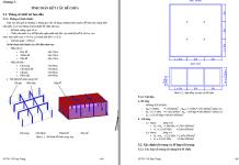 Tính toán kết cấu bể chứa