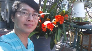 Thai Ta, backyard, March 2015.