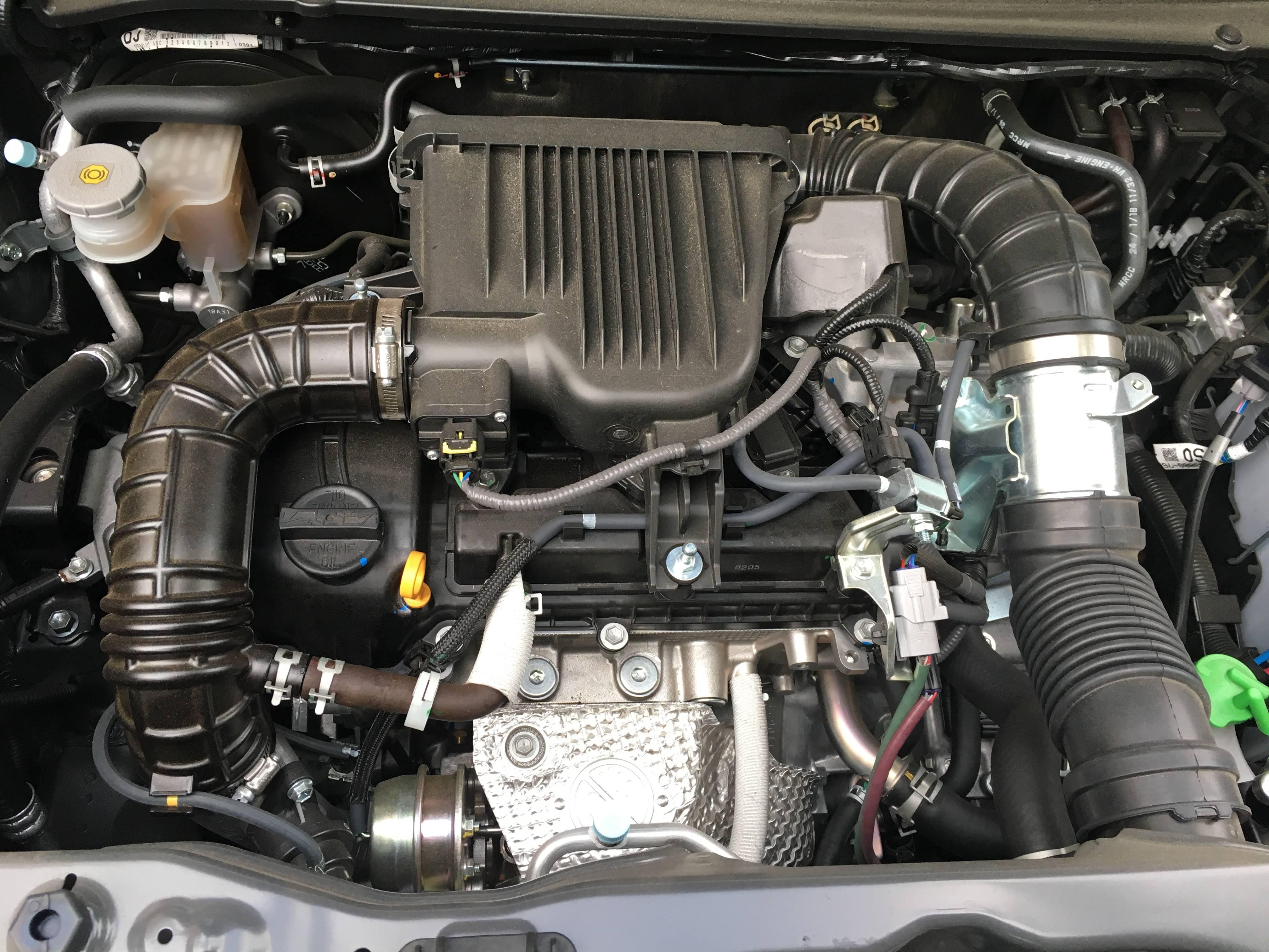 クロスビー(XBEE)のエンジン