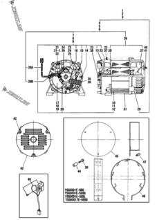 Комплект прокладок двигателя Yanmar YSG6001TE-5E — XBOLT.RU
