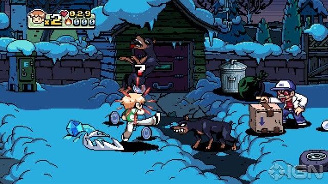 Scott Pilgrim vs. The World: The Game Screenshot