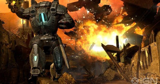 Screen Shot Of Red Faction Armageddon (2011) Full Pc Game Free Download At Worldfree4u.com