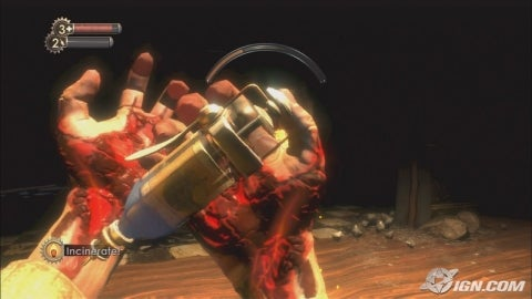 recharging your power in Bioshock