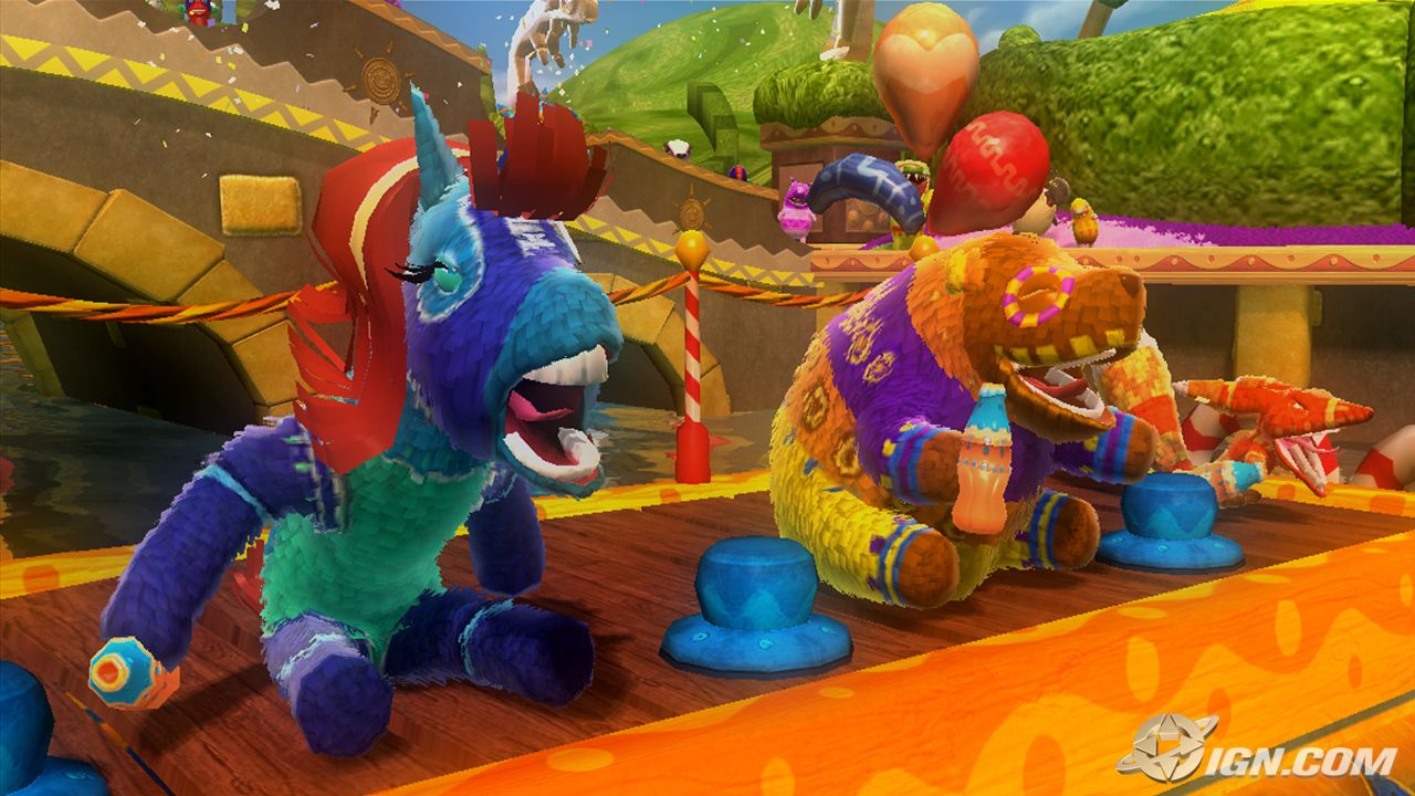 Viva Pinata Trouble In Paradise Racing And Garden Review