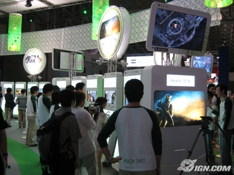 TGS 2007 Microsoft Booth Tour IGN