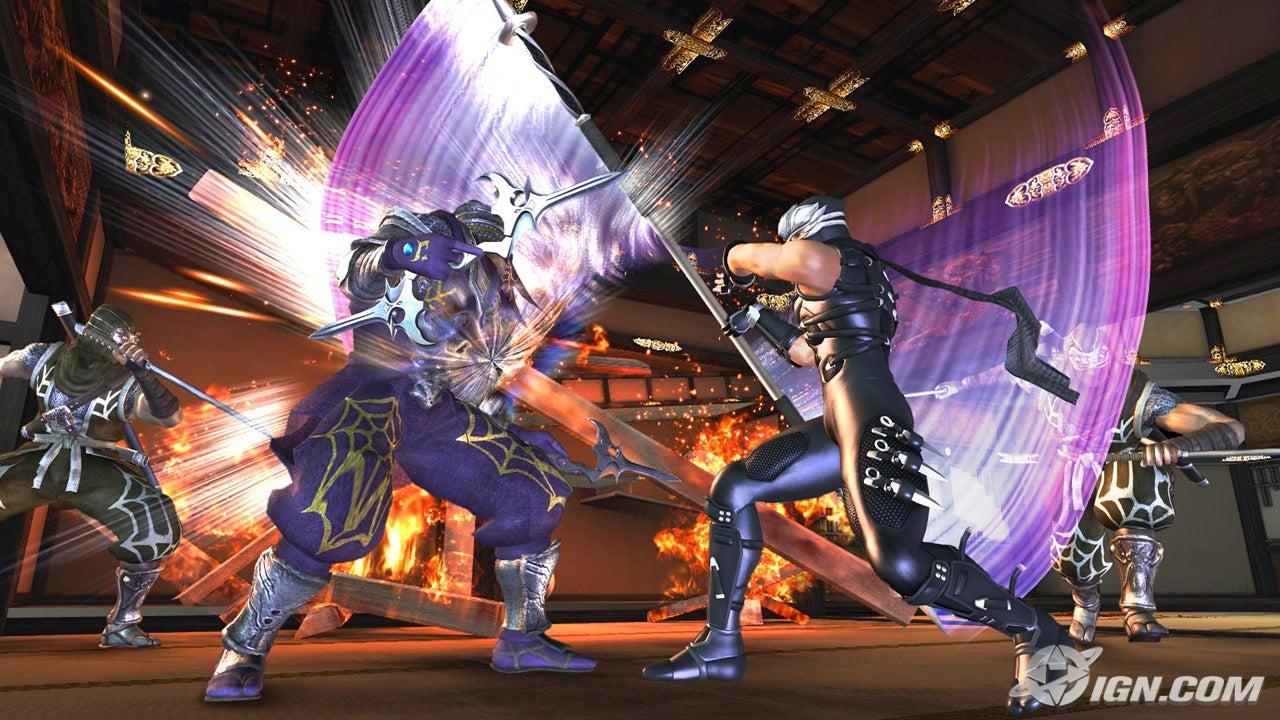 Ninja Gaiden II New Screens Amp Videos Lunar Staff Revealed