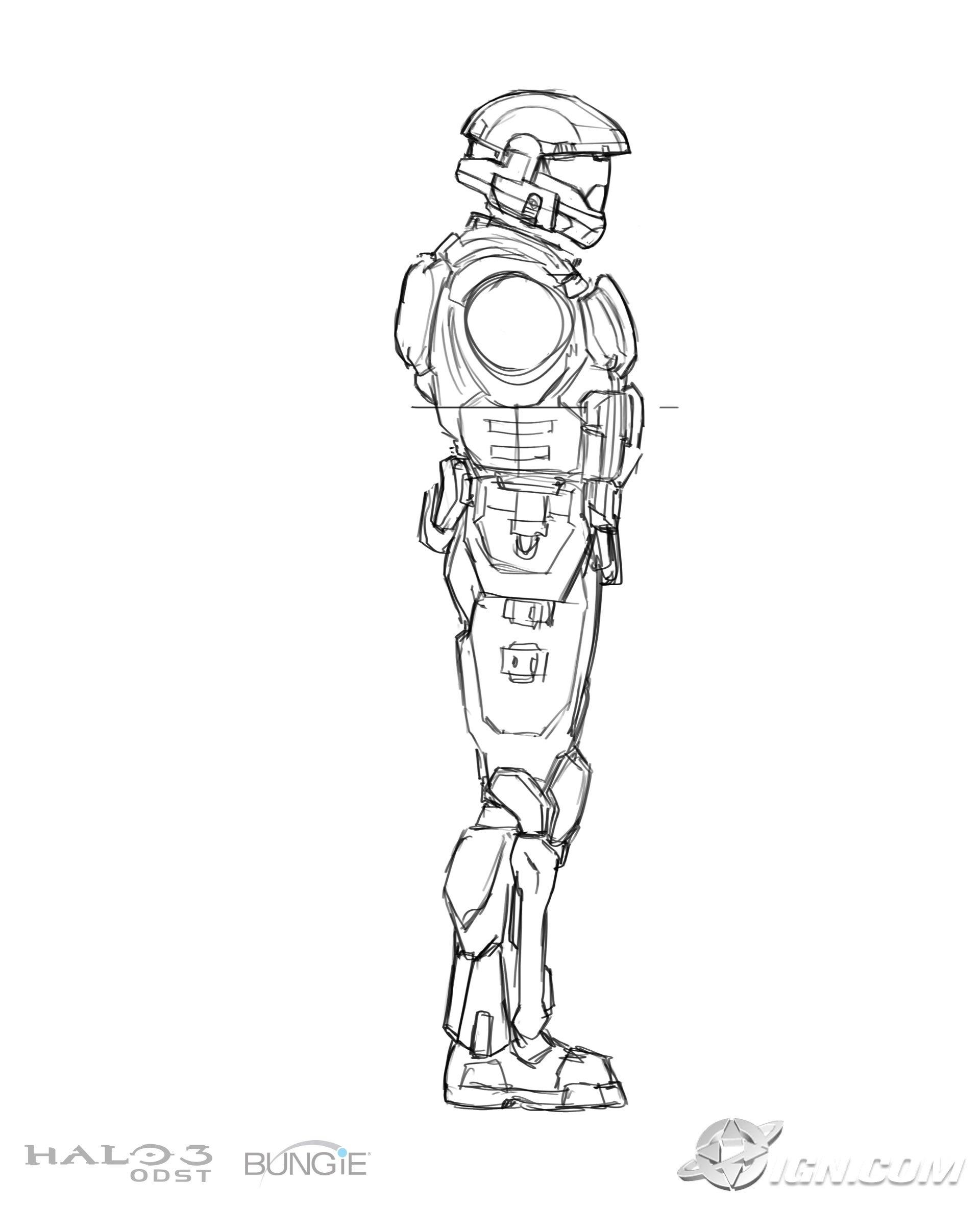 Halo X360 Halo 3 Odst