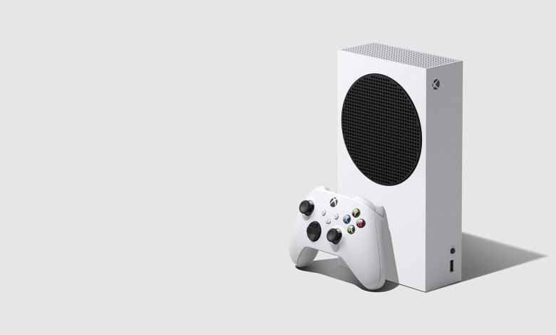 A render of the Xbox Series S