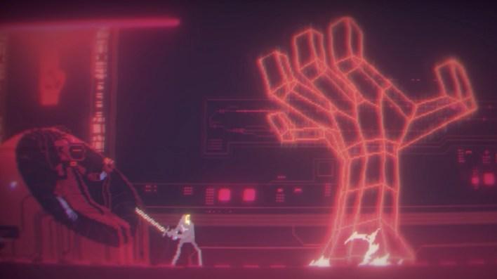 Neo-retro side-scroller Narita Boy re-emerges with stunning new trailer •  Eurogamer.net