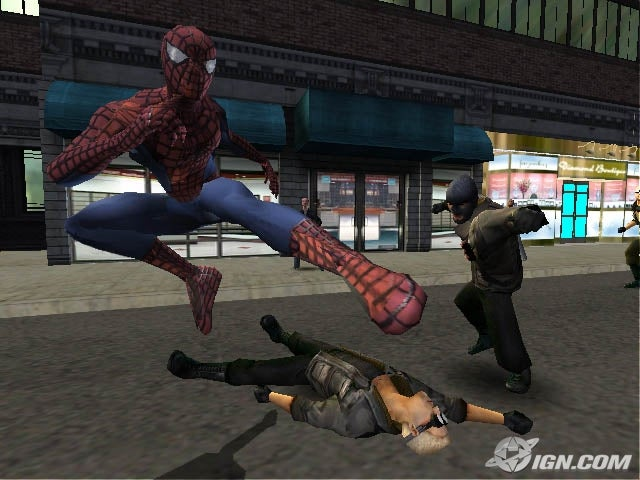 Image result for spider man 2 game 2004
